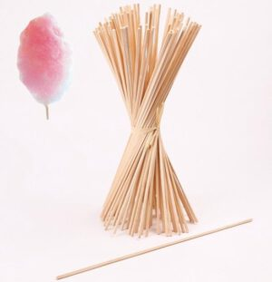 Suikerspinstokjes 100 stuks 28 cm